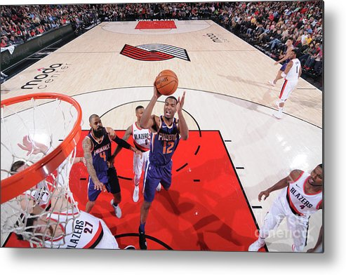 Nba Pro Basketball Metal Print featuring the photograph T.j. Warren by Sam Forencich