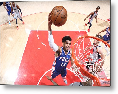 Playoffs Metal Print featuring the photograph Tobias Harris by Ned Dishman