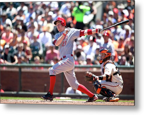 San Francisco Metal Print featuring the photograph Todd Frazier by Jason O. Watson