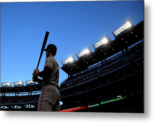 Travis Ishikawa Metal Print featuring the photograph Travis Ishikawa by Rob Carr