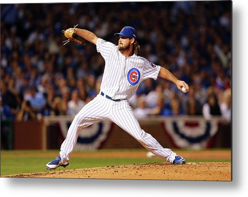 Second Inning Metal Print featuring the photograph Travis Wood by Elsa