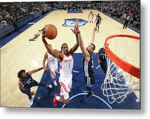 Nba Pro Basketball Metal Print featuring the photograph Trevor Ariza by Joe Murphy