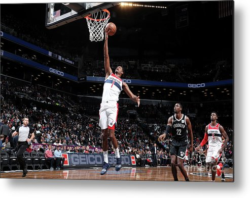 Nba Pro Basketball Metal Print featuring the photograph Trevor Ariza by Nathaniel S. Butler