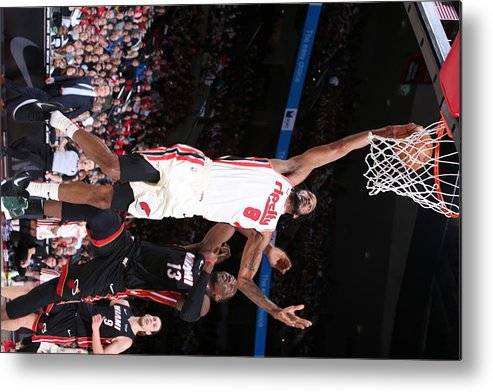 Nba Pro Basketball Metal Print featuring the photograph Trevor Ariza by Sam Forencich