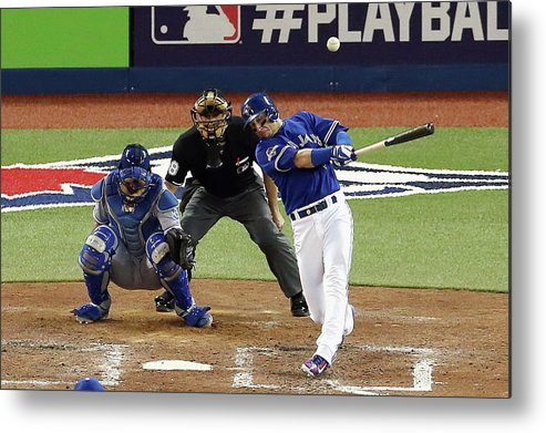 People Metal Print featuring the photograph Troy Tulowitzki by Vaughn Ridley