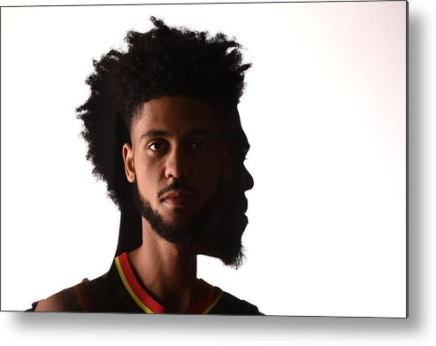 Nba Pro Basketball Metal Print featuring the photograph Tyler Dorsey by Brian Babineau