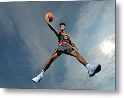 Nba Pro Basketball Metal Print featuring the photograph Tyler Dorsey by Jesse D. Garrabrant