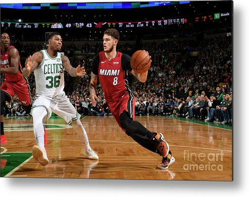 Nba Pro Basketball Metal Print featuring the photograph Tyler Johnson by Brian Babineau