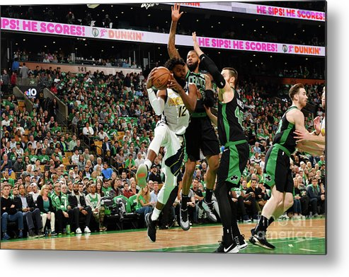 Playoffs Metal Print featuring the photograph Tyreke Evans by Jesse D. Garrabrant
