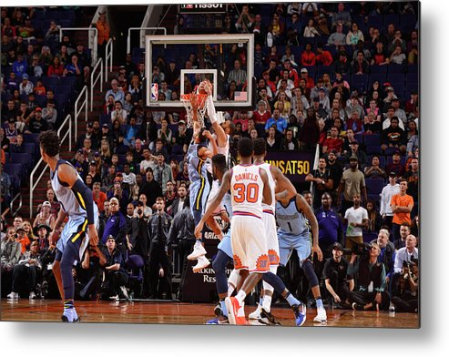 Nba Pro Basketball Metal Print featuring the photograph Tyson Chandler by Barry Gossage
