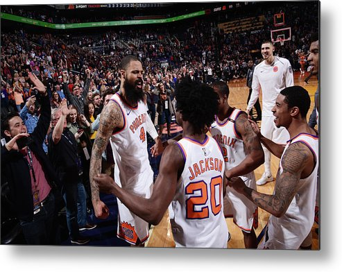 Nba Pro Basketball Metal Print featuring the photograph Tyson Chandler by Michael Gonzales