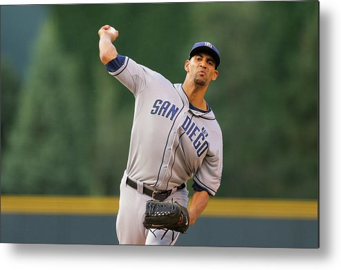 Home Base Metal Print featuring the photograph Tyson Ross by Justin Edmonds