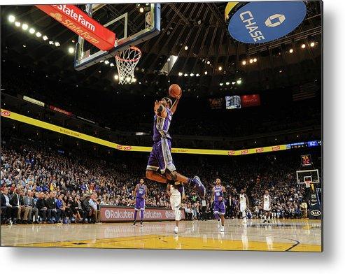 Nba Pro Basketball Metal Print featuring the photograph Vince Carter by Noah Graham