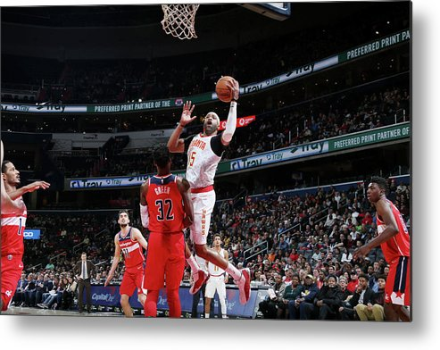 Nba Pro Basketball Metal Print featuring the photograph Vince Carter by Stephen Gosling