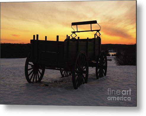New England Metal Print featuring the photograph Wagon Hill Farm - Durham New Hampshire USA by Erin Paul Donovan