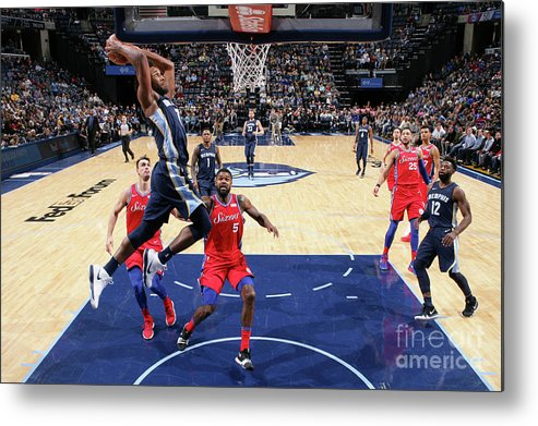 Nba Pro Basketball Metal Print featuring the photograph Wayne Selden by Joe Murphy