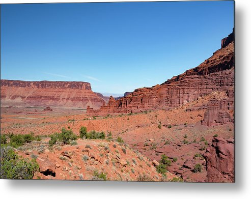 Fisher Towers Metal Print featuring the photograph Wild Utah Landscape by Jim Thompson