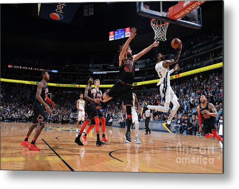 Nba Pro Basketball Metal Print featuring the photograph Will Barton by Bart Young