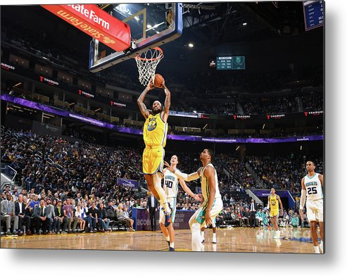 San Francisco Metal Print featuring the photograph Willie Cauley-stein by Noah Graham