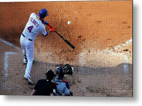 People Metal Print featuring the photograph Wilmer Flores by Jim Mcisaac