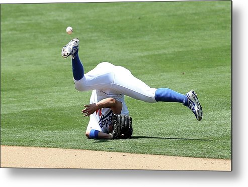 People Metal Print featuring the photograph Wilmer Flores by Stephen Dunn