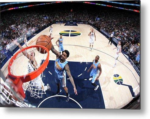 Nba Pro Basketball Metal Print featuring the photograph Wilson Chandler by Melissa Majchrzak