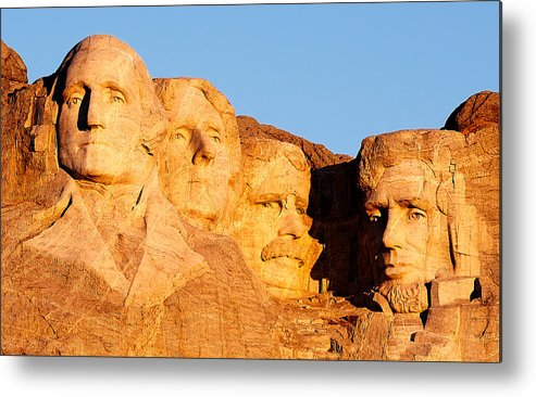 Mount Rushmore Metal Print featuring the photograph Mount Rushmore by Todd Klassy