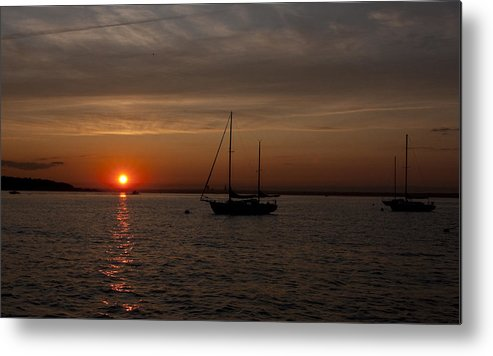 Sun Metal Print featuring the photograph Sunset 502 by Arthur Sa