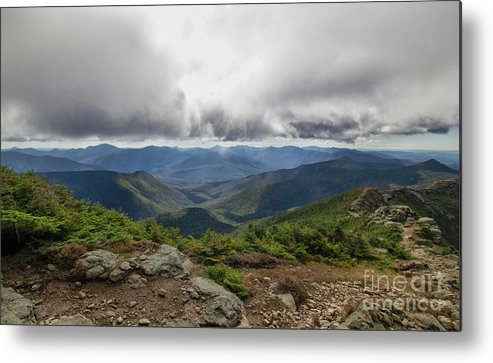 Franconia Ridge Metal Print featuring the photograph The Pemi Wilderness by Diana Nault