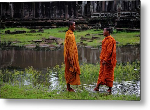 Southeast Asia Metal Print featuring the photograph Cambodia by Rawpixel