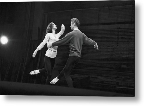 Sweater Metal Print featuring the photograph Cunningham & Brown Dance by Fred W. McDarrah