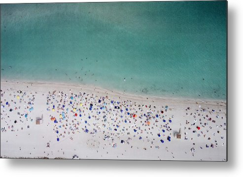 Water's Edge Metal Print featuring the photograph Haulover, Miami by Copyright Www.floridaphoto.com 305.235.7051