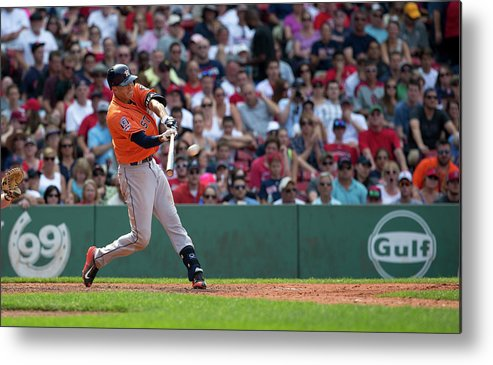 People Metal Print featuring the photograph Carlos Correa by Rich Gagnon
