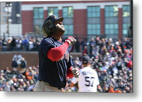 People Metal Print featuring the photograph Pablo Sandoval by Leon Halip