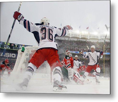 National Hockey League Metal Print featuring the photograph 2014 Coors Light Nhl Stadium Series - by Bruce Bennett