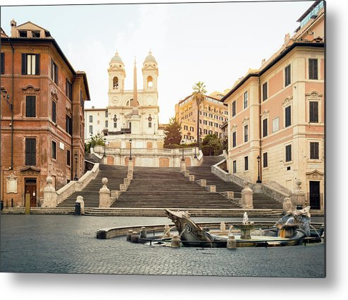 Steps Metal Print featuring the photograph Piazza Di Spagna, Spanish Steps, Rome by Spooh