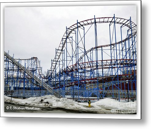 Roller Coaster Metal Print featuring the photograph Spring Awaits by Rennae Christman