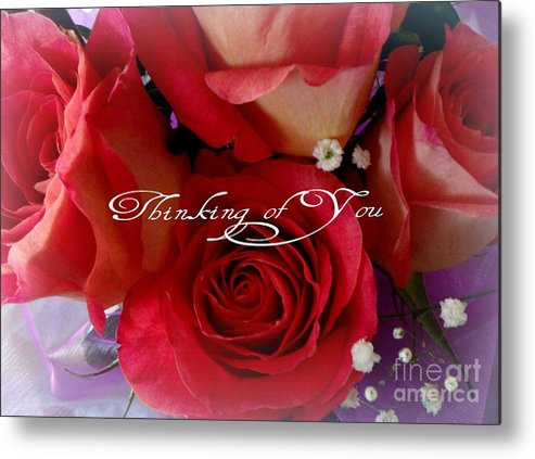 Love Metal Print featuring the photograph Thinking Of You by Gail Matthews