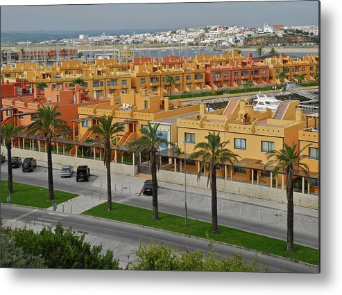 Algarve Portugal Metal Print featuring the photograph The Algarve in Portugal by Kirsten Giving