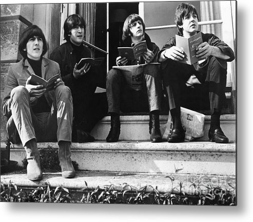 1965 Metal Print featuring the photograph The Beatles, 1965 by Granger