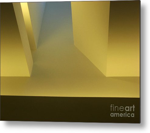 Yellow Metal Print featuring the photograph Above Series 4.0 by Dana DiPasquale