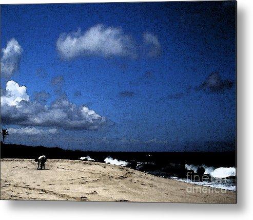 Pohaku Beach Metal Print featuring the photograph Sea Shells by James Temple
