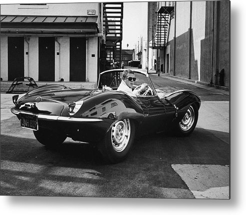 Timeincown Metal Print featuring the photograph Steve Mcqueen by John Dominis