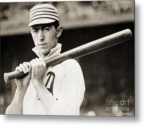 Sports Bat Metal Print featuring the photograph National Baseball Hall Of Fame Library by National Baseball Hall Of Fame Library