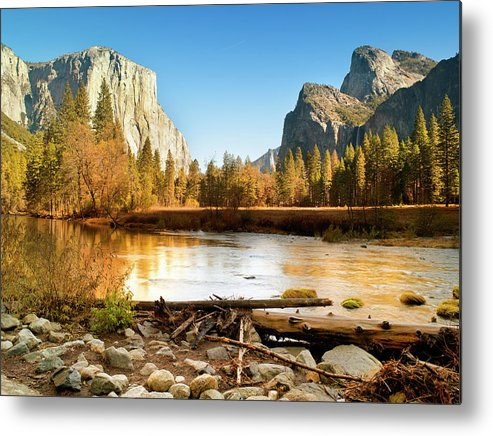 Scenics Metal Print featuring the photograph Yosemite National Park , California by Pgiam