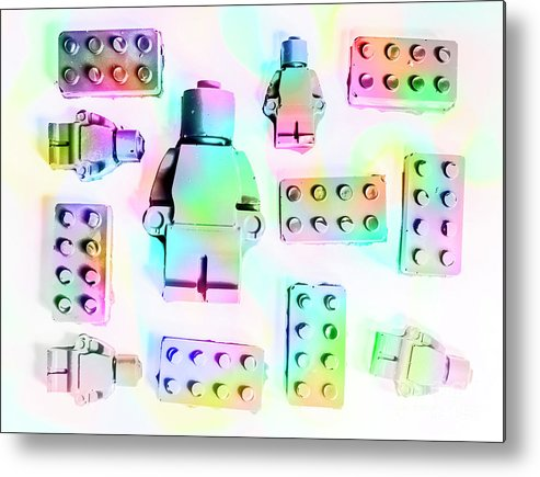 Retro Metal Print featuring the photograph Lego Lanes by Jorgo Photography - Wall Art Gallery