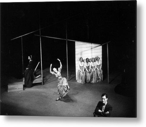 Ballet Dancer Metal Print featuring the photograph Martha Dances by Baron