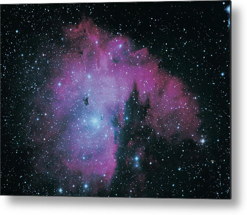 Purple Metal Print featuring the photograph Nebula by Digital Vision.
