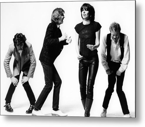 Music Metal Print featuring the photograph Photo Of James Honeyman Scott And by Fin Costello