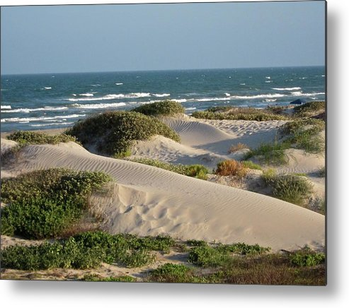 Tranquility Metal Print featuring the photograph Sand Dunes by Joe M. O'connell